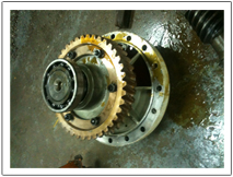gear box 4 in workshop
